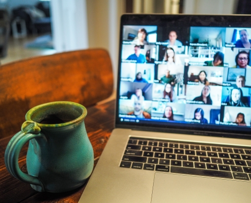 Small Group on Screens: The Strange Days of COVID-19