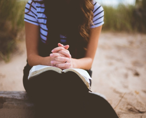 The Importance of Prayer in Bible Study